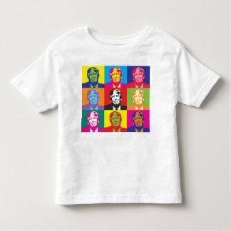 Camiseta De Bebé Donald Trump multicolor