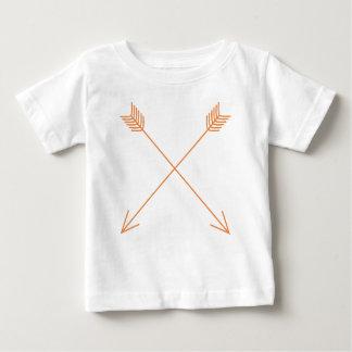 Camiseta De Bebé Dos flechas