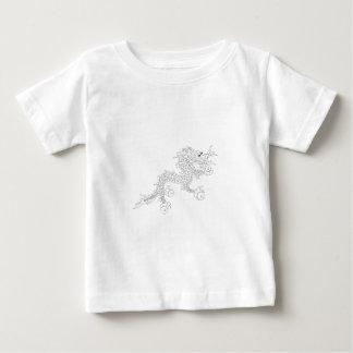 Camiseta De Bebé Dragón de Bhután