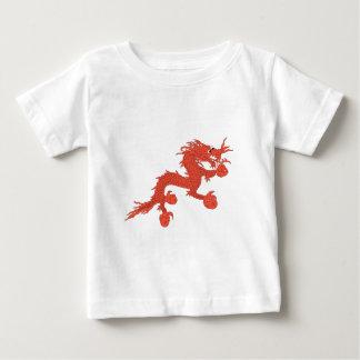 Camiseta De Bebé Dragón rojo (Bhután)