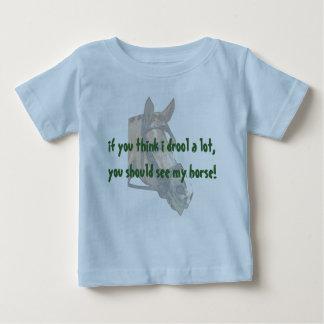 Camiseta De Bebé Drool del bebé