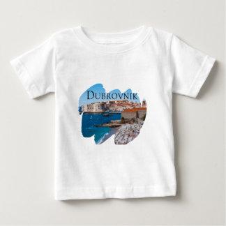 Camiseta De Bebé Dubrovnik con una visión