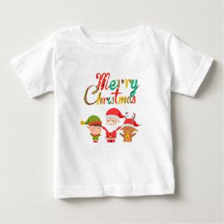 Camiseta De Bebé Duende de las Felices Navidad