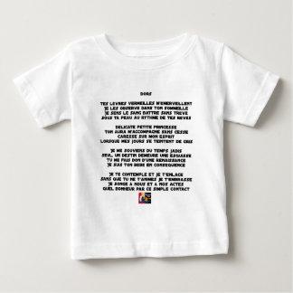 Camiseta De Bebé DUERMA - Poema - Francois Ville