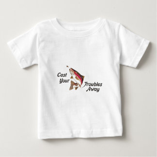 Camiseta De Bebé Eche sus problemas ausentes