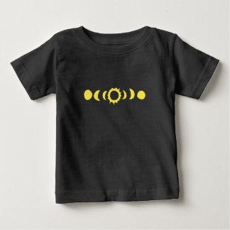 Camiseta De Bebé Eclipse solar total 2017