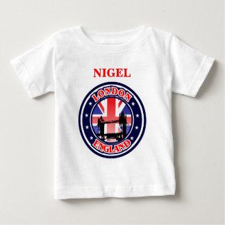 Camiseta De Bebé Ejemplo del vintage del puente de la torre