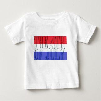 Camiseta De Bebé El 4 de julio