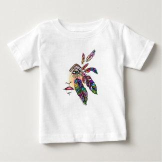 Camiseta De Bebé El amor del OJO EMPLUMA arte de la fantasía