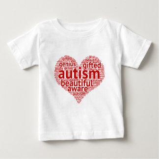 Camiseta De Bebé El autismo es hermoso