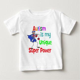 Camiseta De Bebé El autismo es mi superpoder único