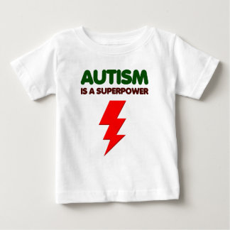Camiseta De Bebé El autismo es superpoder, niños, niños, importa de