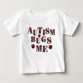 Camiseta De Bebé El autismo fastidia me-1