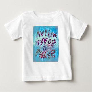 Camiseta De Bebé El autismo no es una fase