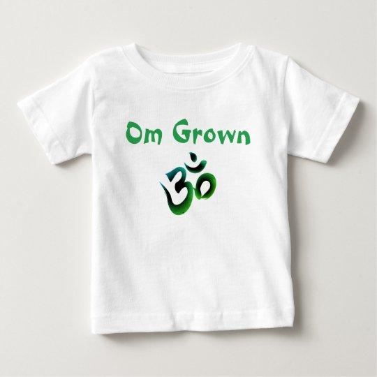 Camiseta De Bebé El bebé verde crecido OM junta con te