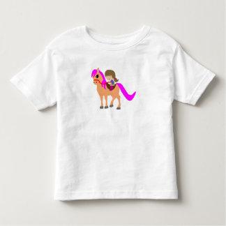 Camiseta De Bebé El caminar en mi potro