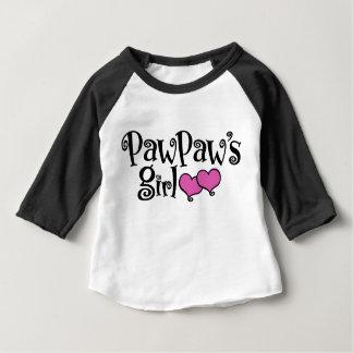 Camiseta De Bebé El chica de la papaya