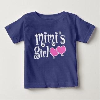 Camiseta De Bebé El chica de Mimi