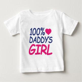 Camiseta De Bebé el chica del papá del por ciento