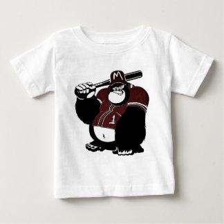 Camiseta De Bebé El club de béisbol del gorila