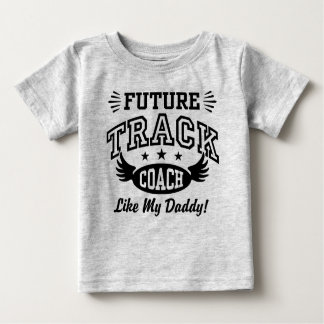 Camiseta De Bebé El coche futuro de la pista tiene gusto de mi papá