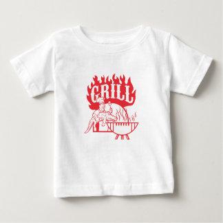 Camiseta De Bebé El cocinero del Bbq lleva la parrilla del