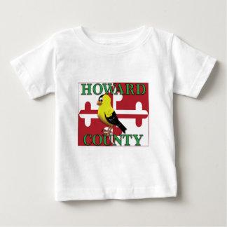 Camiseta De Bebé El CONDADO DE HOWARD con el goldfinch