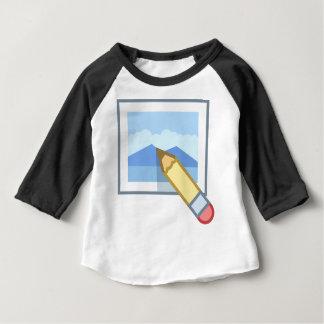 Camiseta De Bebé El corregir de la foto