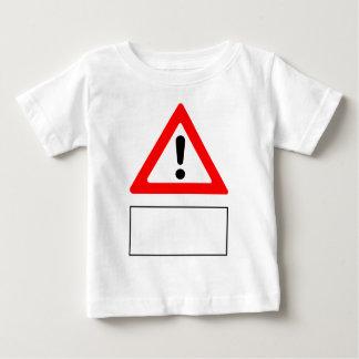 Camiseta De Bebé El CUIDADO añade su propio texto personalizado