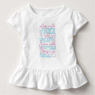 Camiseta De Bebé El decir dulce del chica