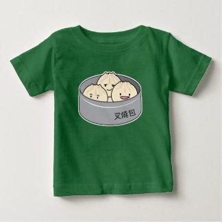 Camiseta De Bebé El desayuno chino del dim sum del bollo del cerdo
