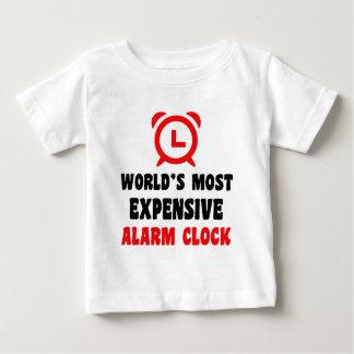 Camiseta De Bebé el despertador más costoso del mundo