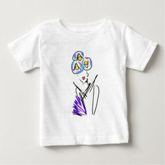 Camiseta De Bebé El ejemplo de la moda del visitante