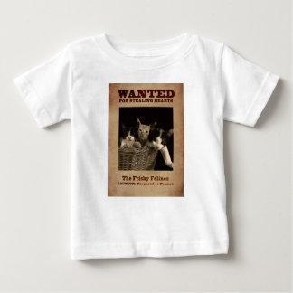 Camiseta De Bebé El Felines juguetón