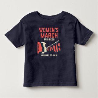 Camiseta De Bebé El funcionario de marzo San Diego de las mujeres