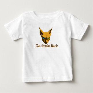 Camiseta De Bebé El gato ase detrás arte pop