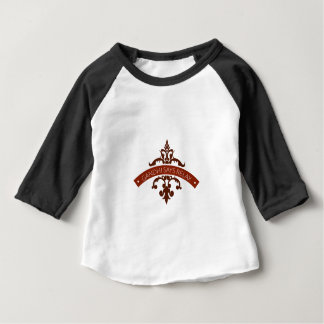 Camiseta De Bebé el ghandi dice se relaja