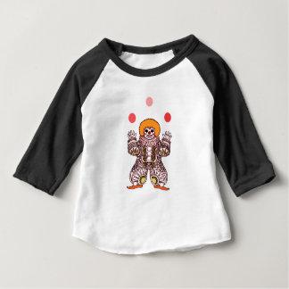Camiseta De Bebé El hacer juegos malabares del payaso