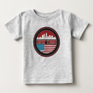 Camiseta De Bebé El horizonte el | Estados Unidos de Nueva York