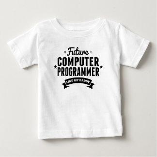 Camiseta De Bebé El informático futuro tiene gusto de mi papá