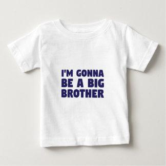 Camiseta De Bebé El ir a ser un hermano mayor