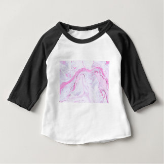 Camiseta De Bebé el mármol de la fresa me modifica para requisitos