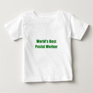 Camiseta De Bebé El mejor empleado de correos de los mundos