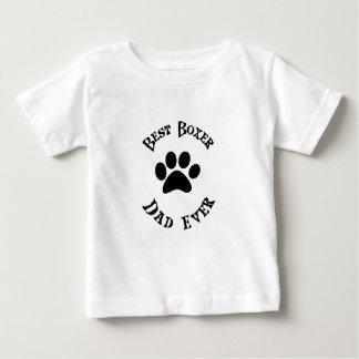Camiseta De Bebé El mejor papá del boxeador nunca