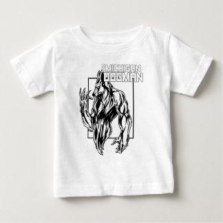 Camiseta De Bebé El Michigan Dogman