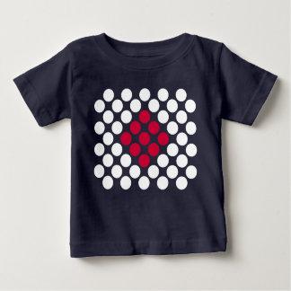 Camiseta De Bebé El minimalist de la bandera de Japón puntea la