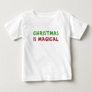 Camiseta De Bebé El navidad es mágico