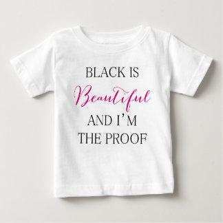 Camiseta De Bebé El negro es hermoso
