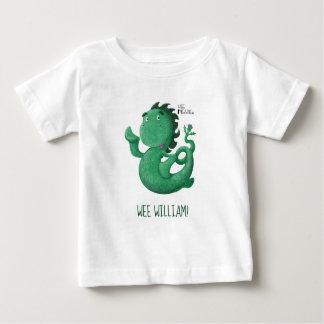 Camiseta De Bebé El Nessie pequenito de Loch Ness personalizó