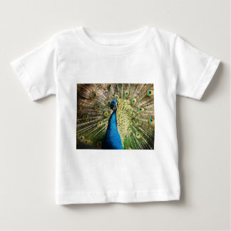Camiseta De Bebé El pavo real bonito